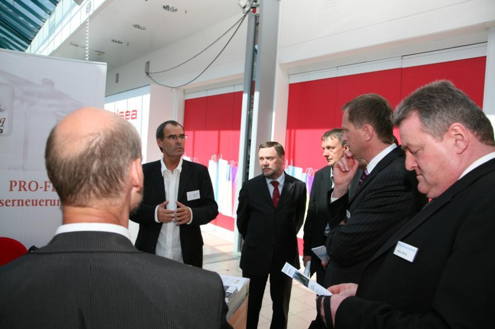 Energiemesse im Bethanien Center Neubrandenburg April 2009