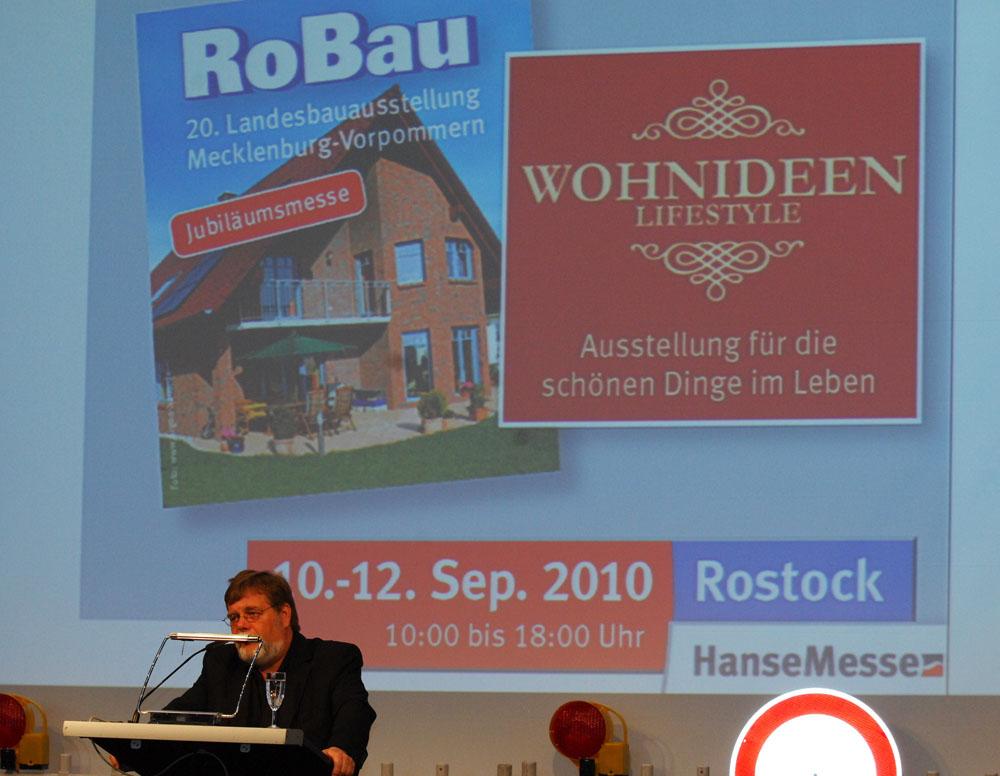 RoBau Messe 2010 - Gebäude - Energieberatung in Rostock & MV